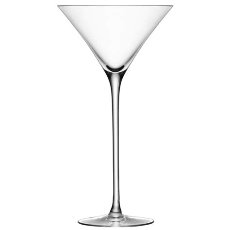 Handmade Martini Glasses - lsa bar cocktail glasses 9 7oz 275ml handmade martini