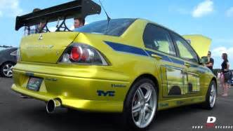 Mitsubishi Lancer From Fast 2 Furious 2 Fast 2 Furious Evo Paul Walker S Mitsubishi Has A New