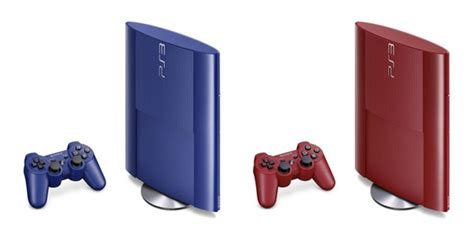 ps3 colors ps3 slim blue and editions heading to japan this month
