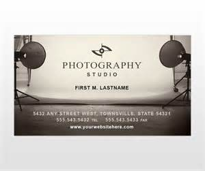 portrait business card template photography studio portrait photographers business card