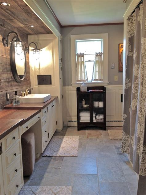 barnwood bathroom ideas unusual materials used in this gorgeous farmhouse bathroom