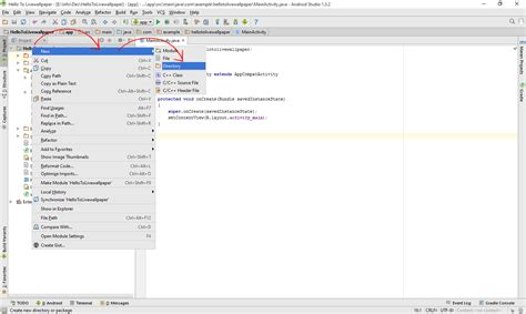 andengine tutorial android studio andengineved setup and create live wallpaper in android
