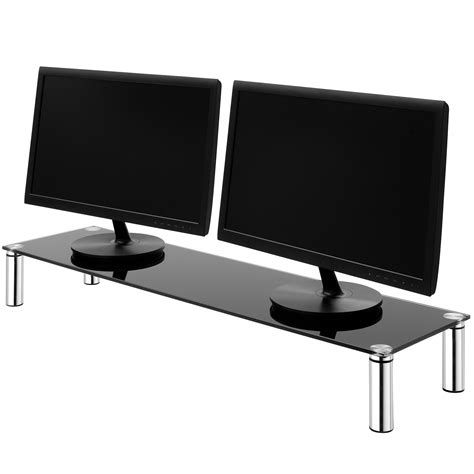 Tv Shelf Riser by X Large Monitor Screen Riser Shelf Computer