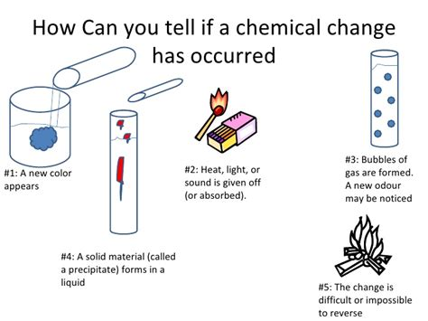 how can you tell if a is josh physical chemical change