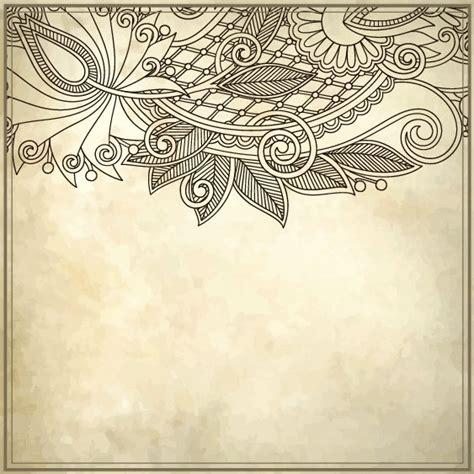 adobe illustrator create border pattern elements of vintage floral borders art vector free vector