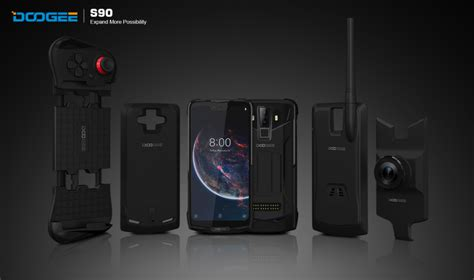 doogee    ruggedized smartphone  modules