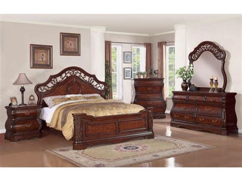 dark wood bedroom sets cozy tuscany bedroom furniture sets in dark wood