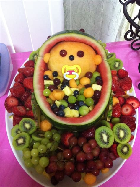 Fruit Tray For Baby Shower by I Think Friend Wants To Do This And Yummmmm