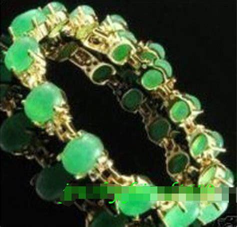 Gelang Batu Hijau Paket Antik Langka Bulat pengiriman cepat gt perhiasan asli manik manik batu giok hijau gelang di bangles dari perhiasan