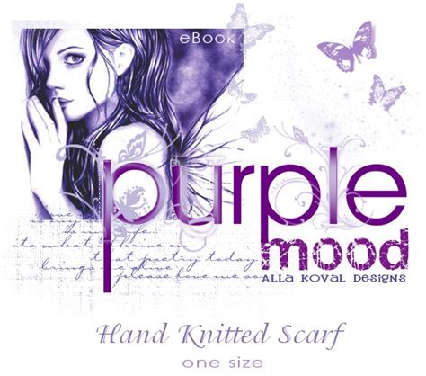 purple mood purple mood free scarf pattern for kids and women my