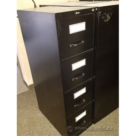 4 Drawer File Cabinet Lock by Global Black 4 Drawer Letter Size Vertical File Cabinet