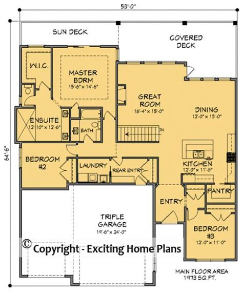 exciting house plans house plan information for e1738 10