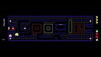 pac doodle pacman 1st only high score 181 460