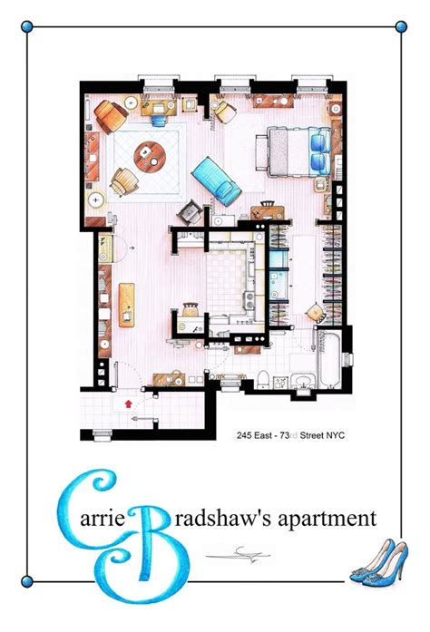 tv show floor plans floor plans of your favorite tv shows3 fubiz media
