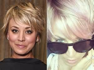 from big theory new haircut kaley cuoco sweeting my husband loved my pink hair