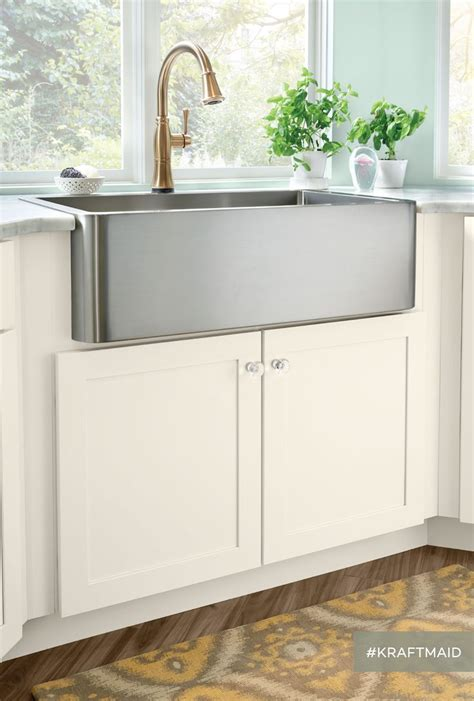 Kitchen Sink Cabinet Base An Apron Front Sink Base Is Just One Exle Of The Many Kitchen Sink Base Options Available
