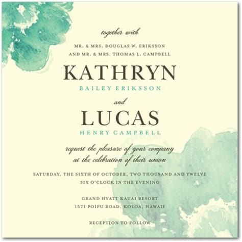 content for wedding invitation in blooming watercolor wedding invitations invitation crush