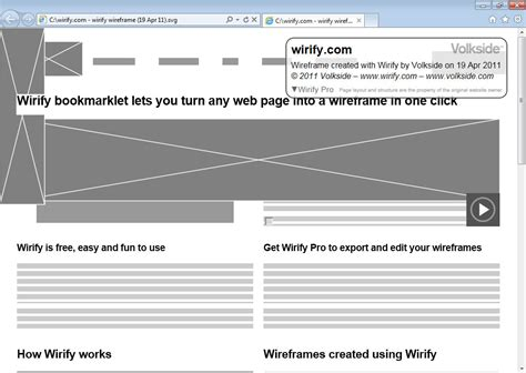 visio wireframes wirify export your wireframes to visio and svg using