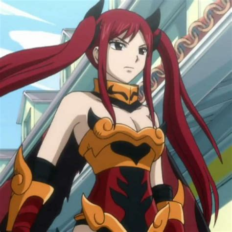 hot female anime characters list erza scarlet