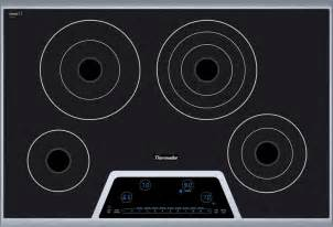 Thermador Electric Cooktop - thermador cet304fs 30 quot masterpiece electric cooktop black