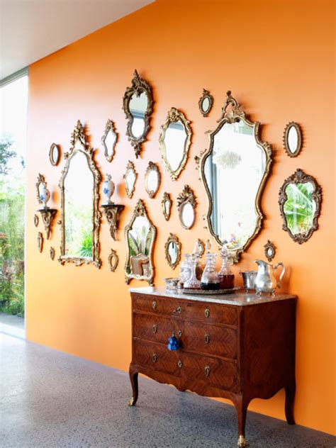 wall of mirrors 5 inspiring ways of displaying your collections
