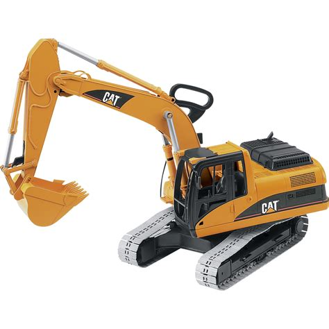 bruder excavator bruder caterpillar excavator 1 16 scale model 02439