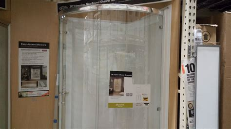 Round Glass Shower Review ($514 at Home Depot)