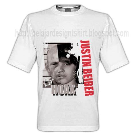 Kaos Being As An 6 koleksi psd desain kaos hoax justin beiber t shirt