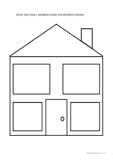 home design worksheet rooms of the house worksheets for kids all worksheets hd
