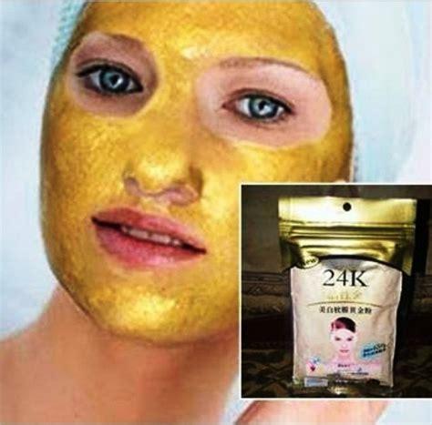 Masker Wajah Bubuk masker bubuk emas gold mask powder wajah cerah putih