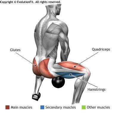 what muscle groups do kettlebell swings work glutes sumo squat kettlebell you work out pinterest
