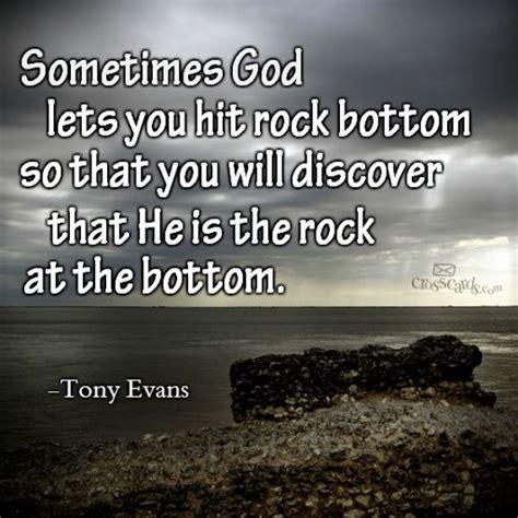 Hits Rock Bottom tony quotes quotesgram