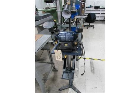 mastercraft bench grinder mastercraft 6 bench grinder mounted on floor standing pedestal model 055 3518 2 1 2 hp 120 vo