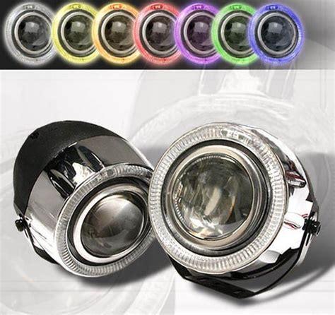fog lights ls w halo universal 7 color foglights