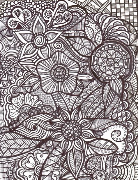 flower doodle quilt kit 278 best images about zentangle botanical nature on