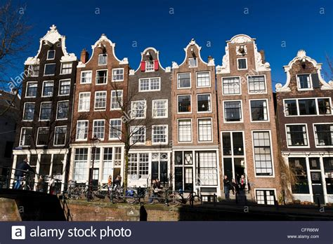 houses to buy in amsterdam dutch gable houses along brouwersgracht canal amsterdam stock photo royalty free