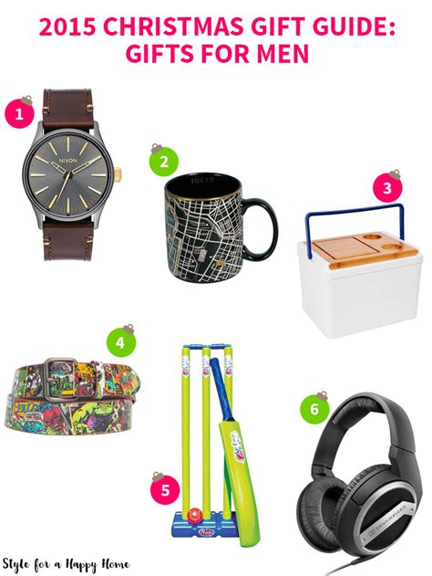 2015 christmas gift guide gifts for men style for a