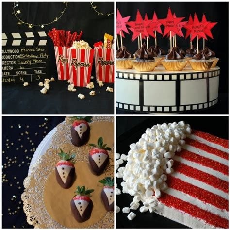 hollywood theme party food movie night or awards party random party decor ideas