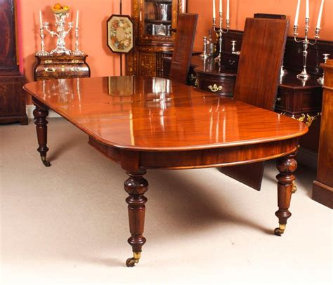 antique victorian flame mahogany   extending dining