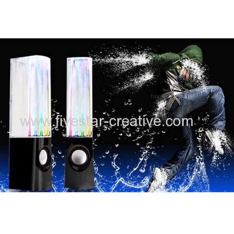 Speaker Multi Colour Led With Water Effect T3009 2 usb powered colorful led water mini