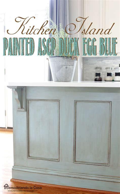 chalk paint kitchen cabinets duck egg 25 best ideas about kitchen island makeover on