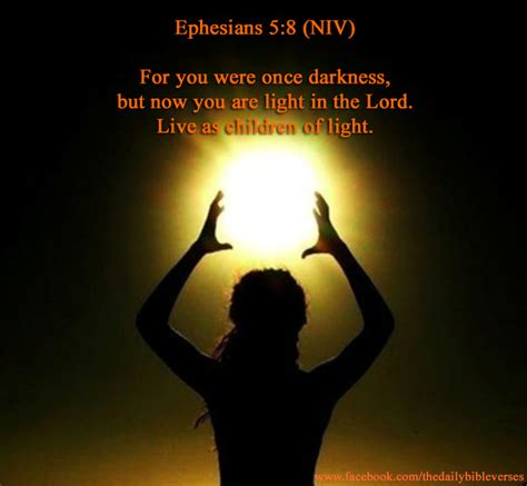 light and darkness bible daily bible verses ephesians 5 8
