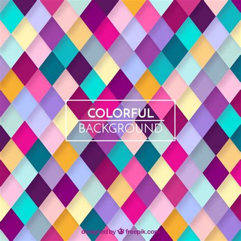 colorful pattern colorful geometric pattern background vector free