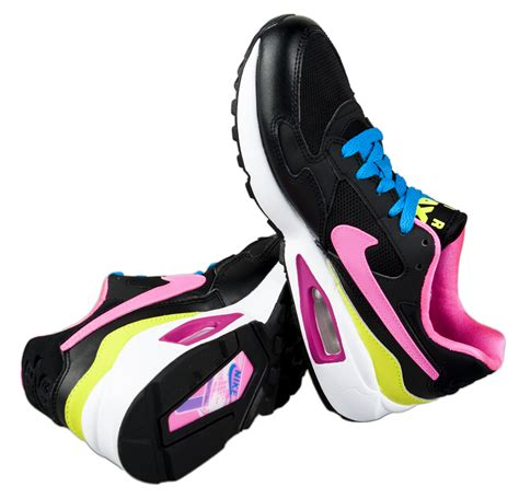 Nike Air Max 1 Kinderschuh 678 by Nike Nike Kinderschuhe Air Max St Gs Black Pink Pow