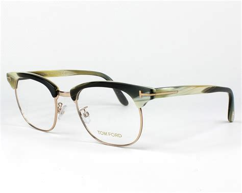 Tom Ford Aims To Create A New Version Of Luxury For by Lunettes De Vue Tom Ford Tf 5342 060 Kaki Monture Mixte