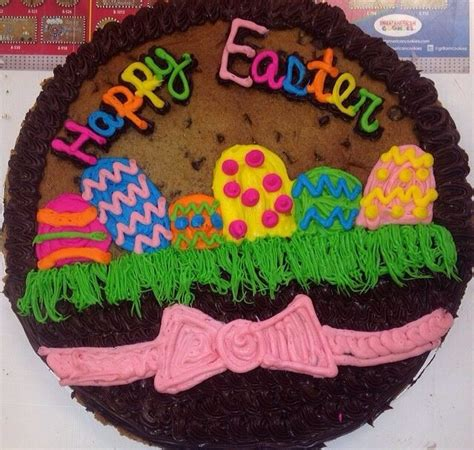 Cookie Cake Decorating Ideas by Easter Cookie Cake Easter