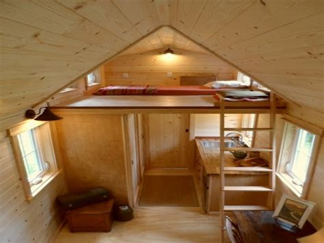 small house with loft tiny house on wheels inside www imgkid com the image