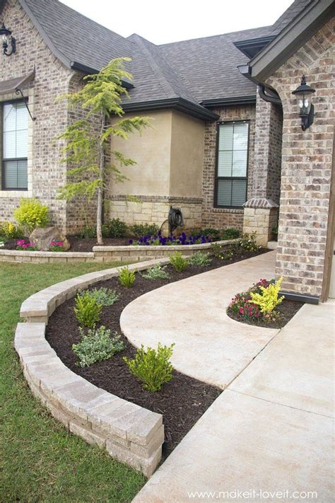 25 best front walkway landscaping ideas on