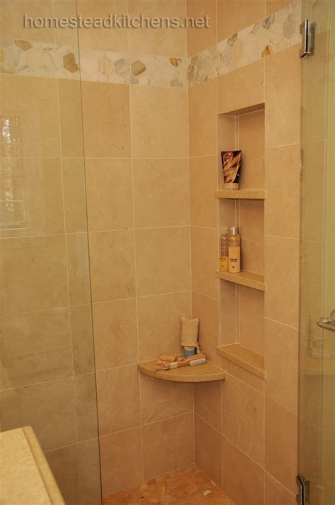 bathroom shower corner shelves corner shower shelf bathroom traditional with accent tile