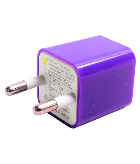 Usb Charger Adapter Usb Charger Apple jm usb adapter charger for apple iphone 6 purple available
